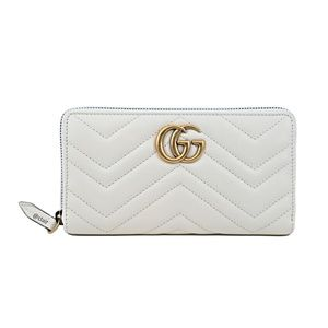 b7707e95ef8f Gucci GG Marmont Leather Zip-Around Wallet